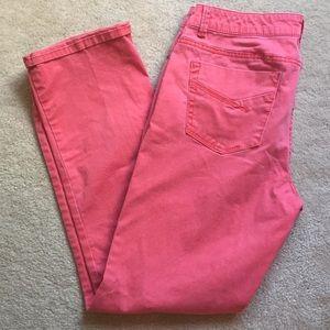 Sonoma pink jeans
